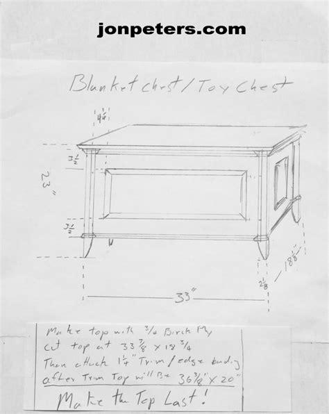 blanket chest drawing jon peters art amp home