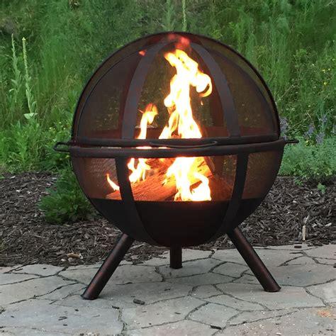 wood burning pit sunnydaze flaming pit steel portable wood