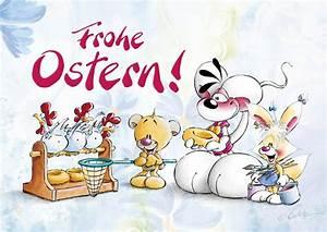 Frohe Ostern Lustig : frohe ostern comic cartoons echte postkarten online versenden ~ Frokenaadalensverden.com Haus und Dekorationen