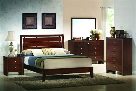 crown bedroom set crown furniture evan bedroom set in warm brown