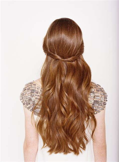 half up half down wedding hairstyles once wed