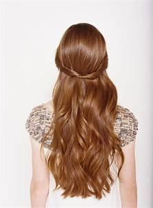 Half Up Half Down Wedding Hairstyles - Once Wed