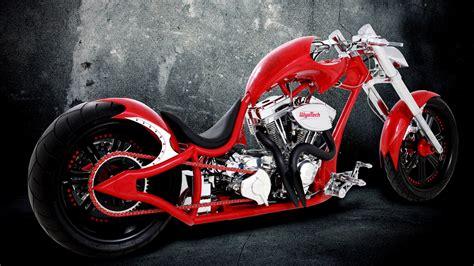 Motorbikes Chopper Custom Wallpaper