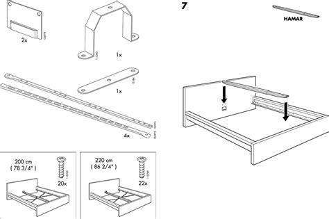 Ikea Bed Gebruiksaanwijzing by Handleiding Ikea Malm Bedframe Pagina 4 6 Dansk