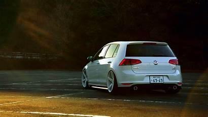 Golf Volkswagen Wallpapers Desktop Vii Gti Mk7