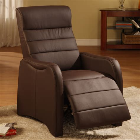 simple small modern recliners chair leather recliner