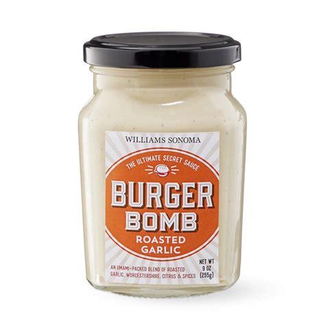 roasted garlic burger bomb sauce williams sonoma au