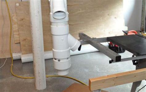 build  dust collection system woodwork shop dust