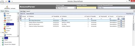 Php Resume Parser Source Code by Resume Parsing Resume Format Pdf