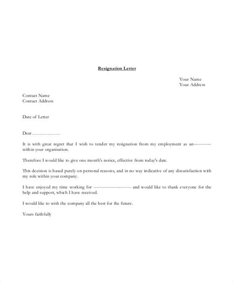address basic letter with userform basic resignation letter template 17 free word pdf