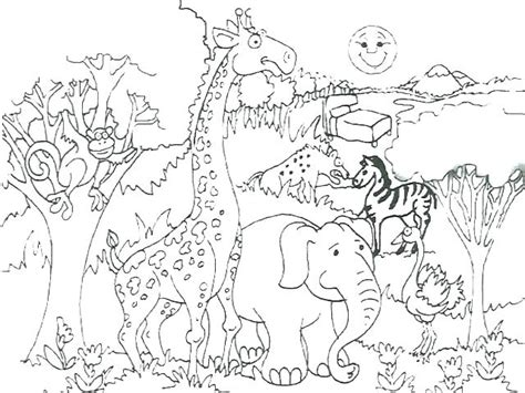 grassland animals coloring pages  getcoloringscom  printable colorings pages  print