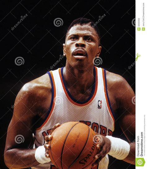 Patrick Ewing New York Knicks Editorial Photography ...