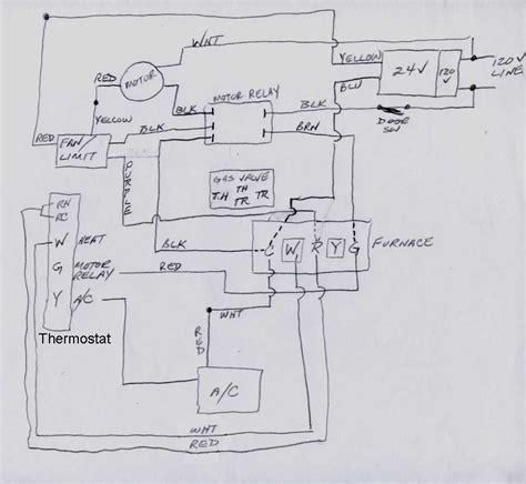 comfortmaker furnace g u 400100 12m need wiring help diy appliance repair help