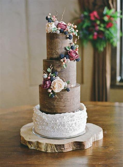 decadent  delicious chocolate wedding cakes chic