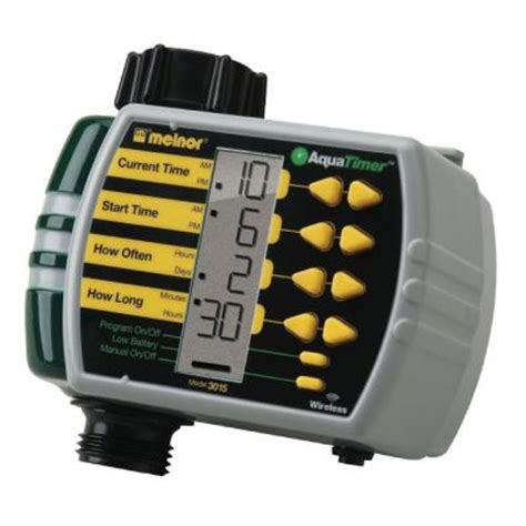 melnor electronic water timer discontinued 3015v the