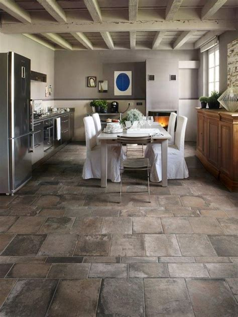 kitchen floor idea 25 flooring ideas with pros and cons digsdigs