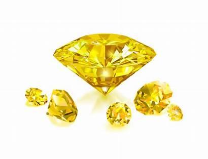 Topaz Illustrations Yellow Diamonds Vector Background Bright