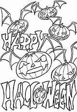 Coloring Pumpkin Pages Halloween Printable Vampire Fun These Scary Addition Check Decorate sketch template