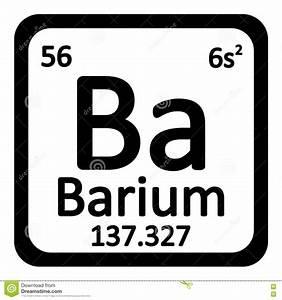 barium on the periodic table - 28 images - barium element ...