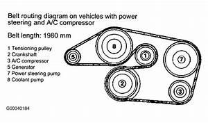 Mercedes 1993 Serpentine Belt Diagram