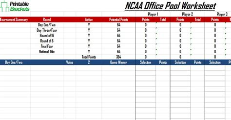 ncaa office pool march madness office pool