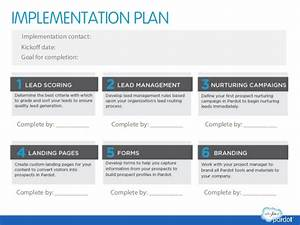 marketing automation success planning template With policy implementation plan template