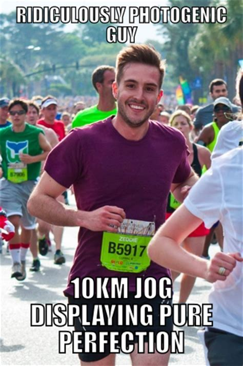 Ridiculously Photogenic Guy 10km Jog of Perfection