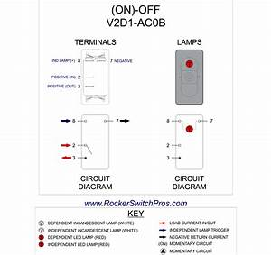 Momentary Led Switch