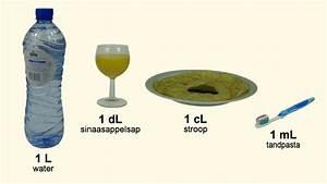 Milliliter In Cl : inhoudsmaten omrekenen 2 liter deciliter centiliter milliliter youtube ~ Yasmunasinghe.com Haus und Dekorationen