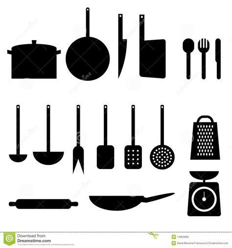 Kitchen Items Royalty Free Stock Photos   Image: 14855868