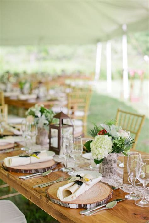 york farm wedding rustic wedding table decorations