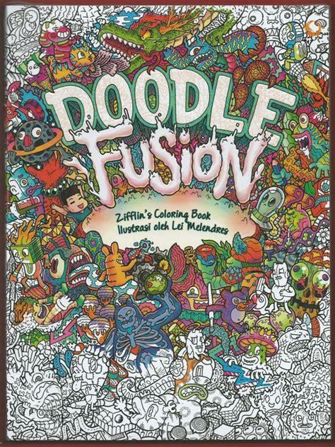 jual doodle fusion coloring book  lapak sireums sireumshop
