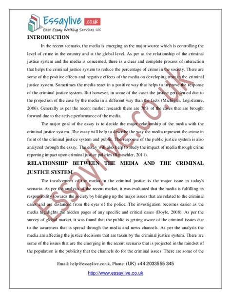 criminal justice career goals essay
