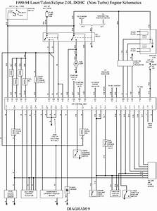 Wiring Diagram For A 1993 Eagle Talon Fuel Pump Circuit  Four
