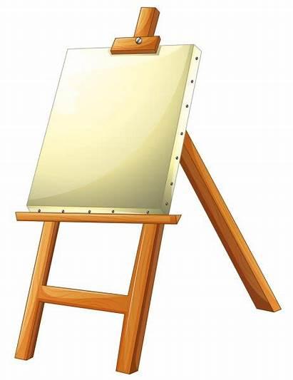 Easel Canvas Vectorified Depositphotos