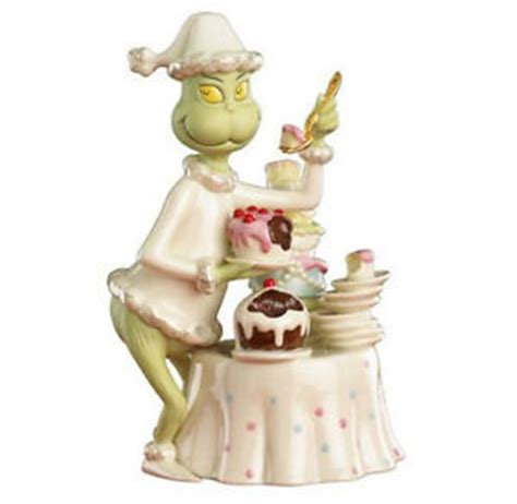 lenox dr seuss grinch grinchy delights figurine new in