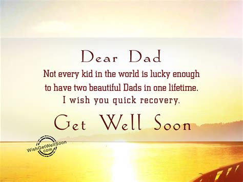 Get Well Soon Quotes For Father