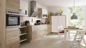 cuisine moderne bois le bois chez vous With cuisine moderne bois clair