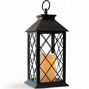 Buy, Bright, Zeal, Vintage, Candle, Lantern, With, Led, Flickering, Flameless, Candles, With, Timer, And