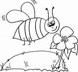 Coloring Bee Bumble Bumblebee Pages Colour Templates Outline Cartoon Honey Clipart Beehive Getcoloringpages Clipartbest Cliparts sketch template