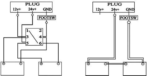 conversion of a 12 24v system to 24v