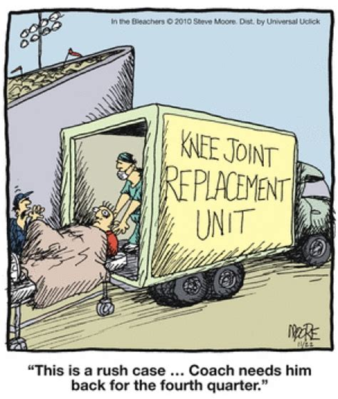 knee replacement comic knee arthritis  replacement pinterest physical therapy