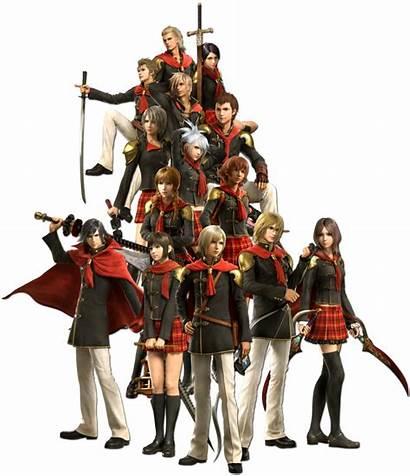 Zero Class Final Fantasy Type Cosplay Boys
