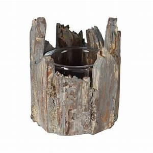 Holz Ausbessern Aussen : wmg deko windlicht mit holz f r innen aussen 15cm x 12cm ~ Lizthompson.info Haus und Dekorationen
