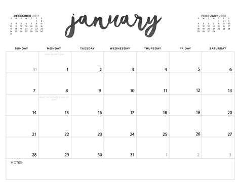 Download Printable Calendars
