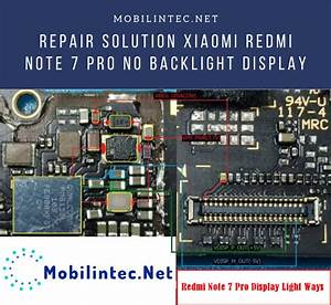 Fix Xiaomi Redmi Note 7 Pro No Backlight Display