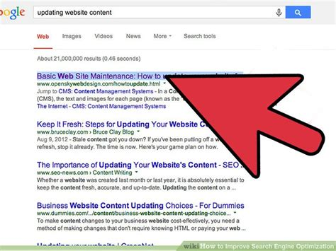 increase search engine optimization 4 ways to improve search engine optimization wikihow