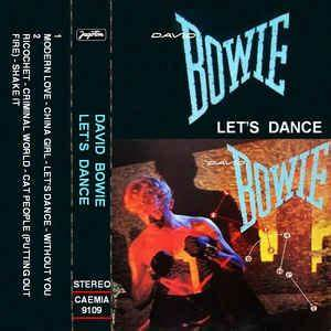 David Bowie - Let's Dance (Cassette, Album) at Discogs