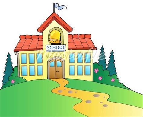 Cartoon School House