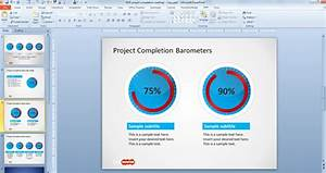 free project completion barometer shapes for powerpoint With barometer template